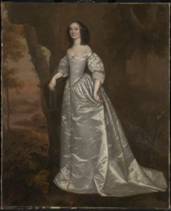 Portrait of an Unknown Lady (c.1650-5), by Joan Carlile. Image courtesy Tate Britain.