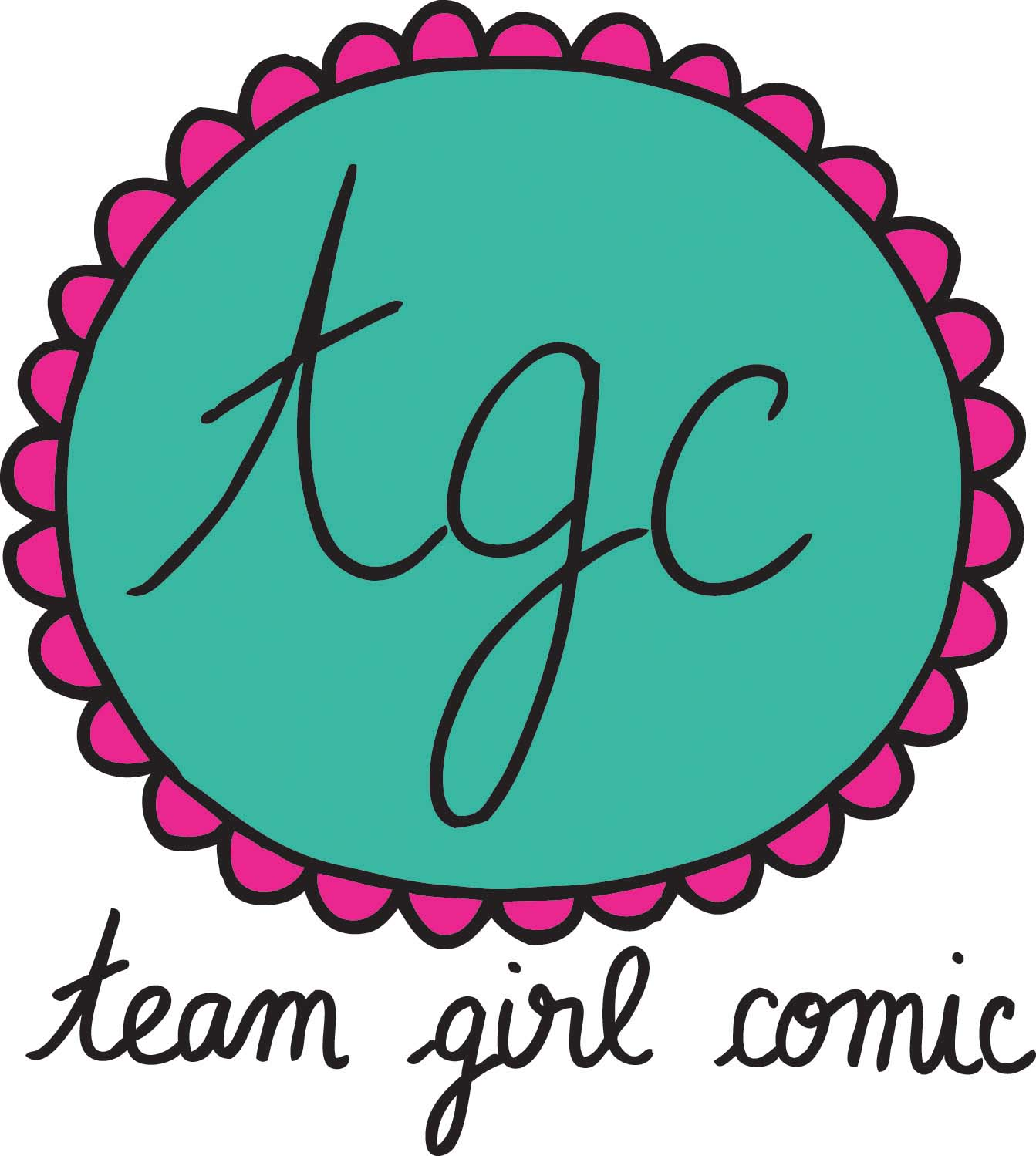 Team Girl Comic logo
