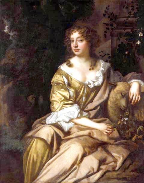 Nell Gwyn by Peter Lely, 1675.