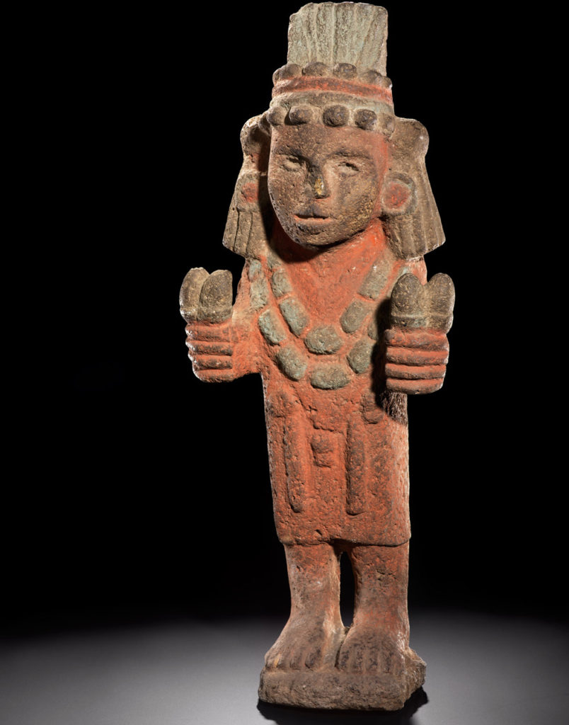 Statute of Chicomecoatl