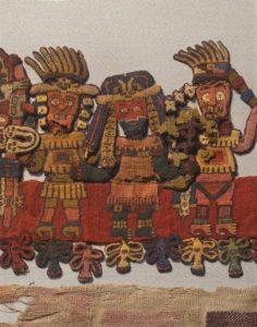 Paracas textile close-up #1