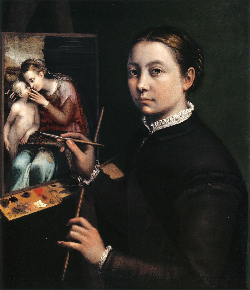 Sofonisba Anguissola self-portrait