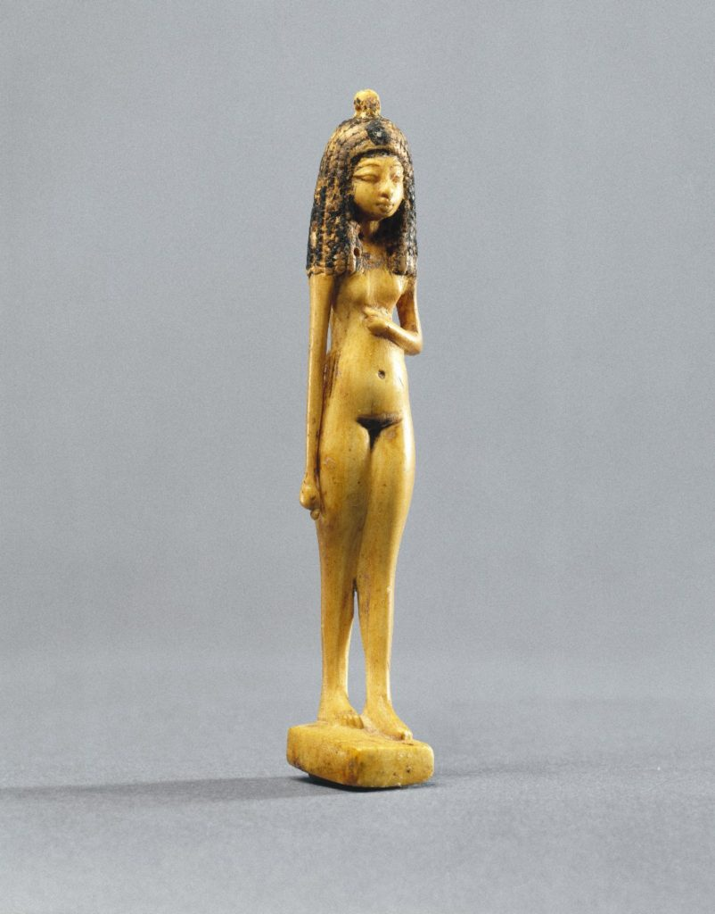 Statuette of a Nude Girl, Ancient Egypt