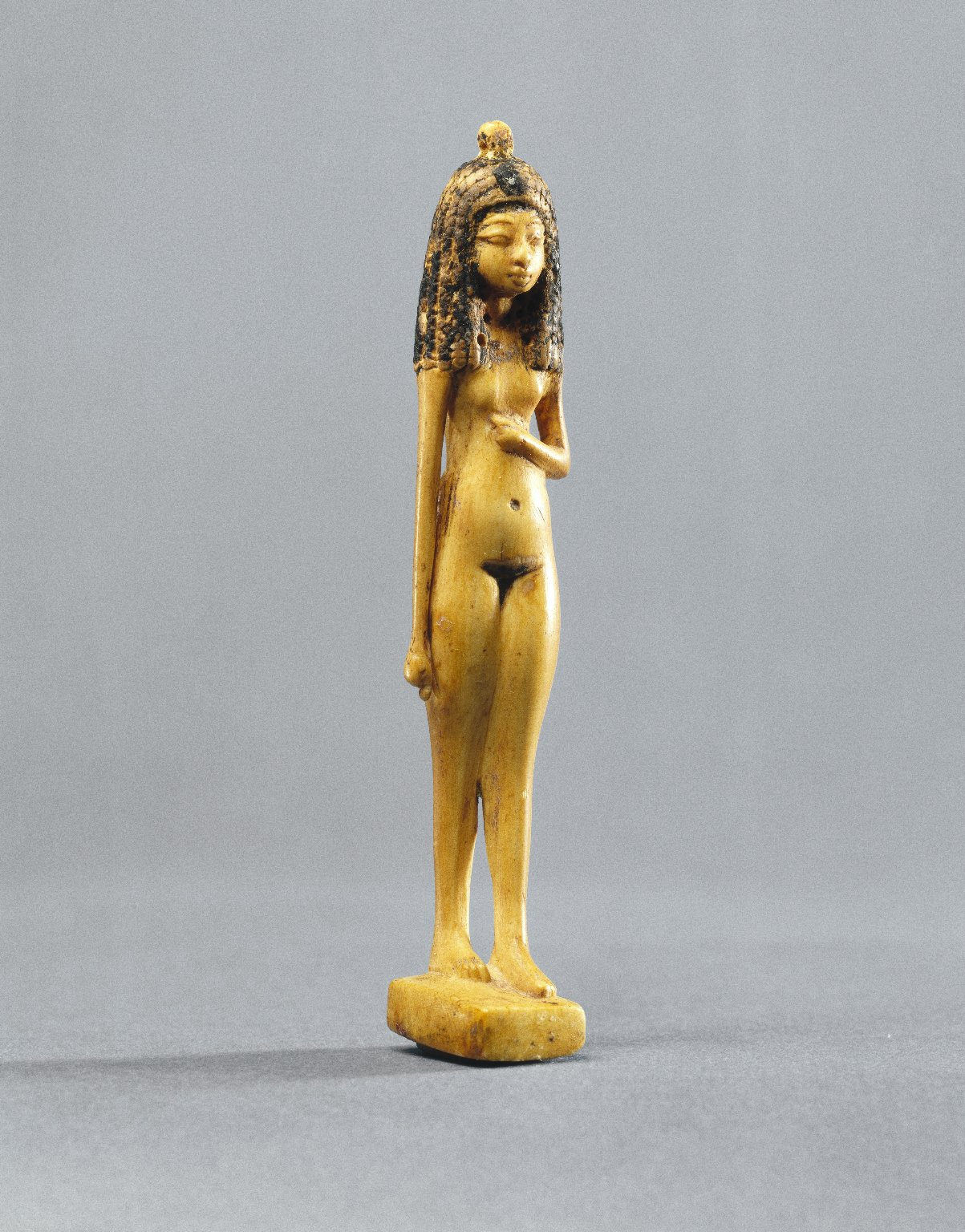 Egyptian Statuette of a Nude Girl