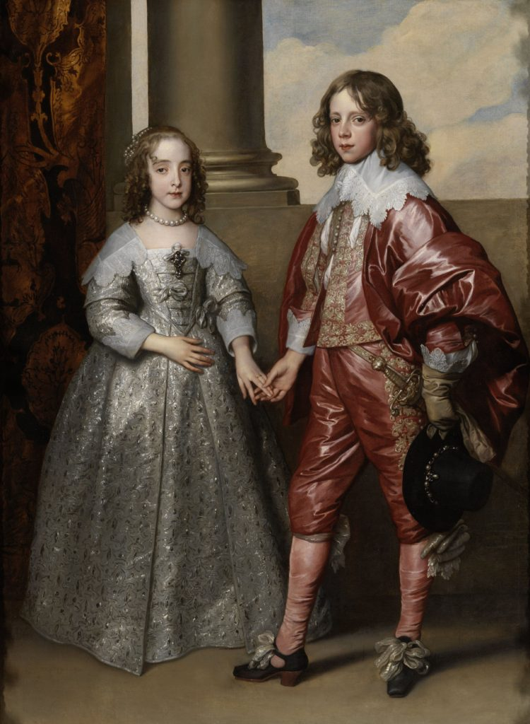 William II and Mary Stuart on their wedding day