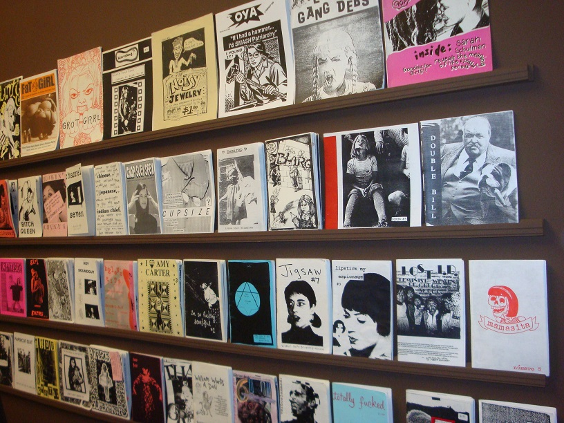 Wall of Zines