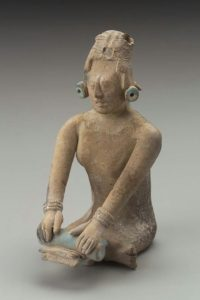 Jaina-style female effigy figurine