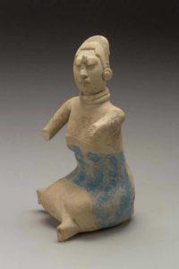 Jaina-style female effigy whistle