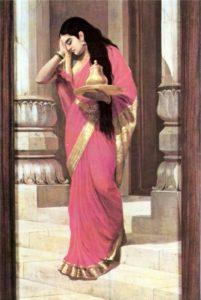 Draupadi painting