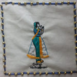 Gargi embroidery
