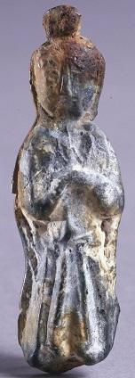 Zhou woman figurine