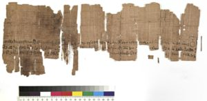 Marriage contract fragment