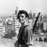 Marina Ginestà on a Rooftop