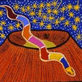 Mythological Girls: Julunggul, the Rainbow Serpent