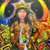 Mythological Girls: Pachamama