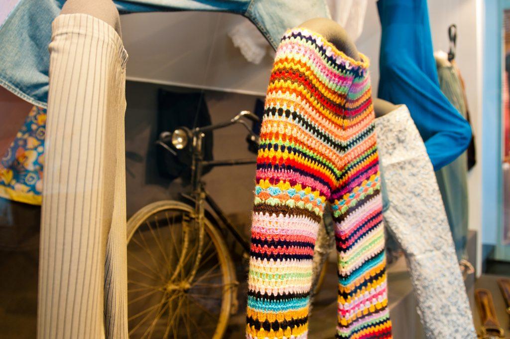 Women's Museum Meran Crochet Pants of Protest