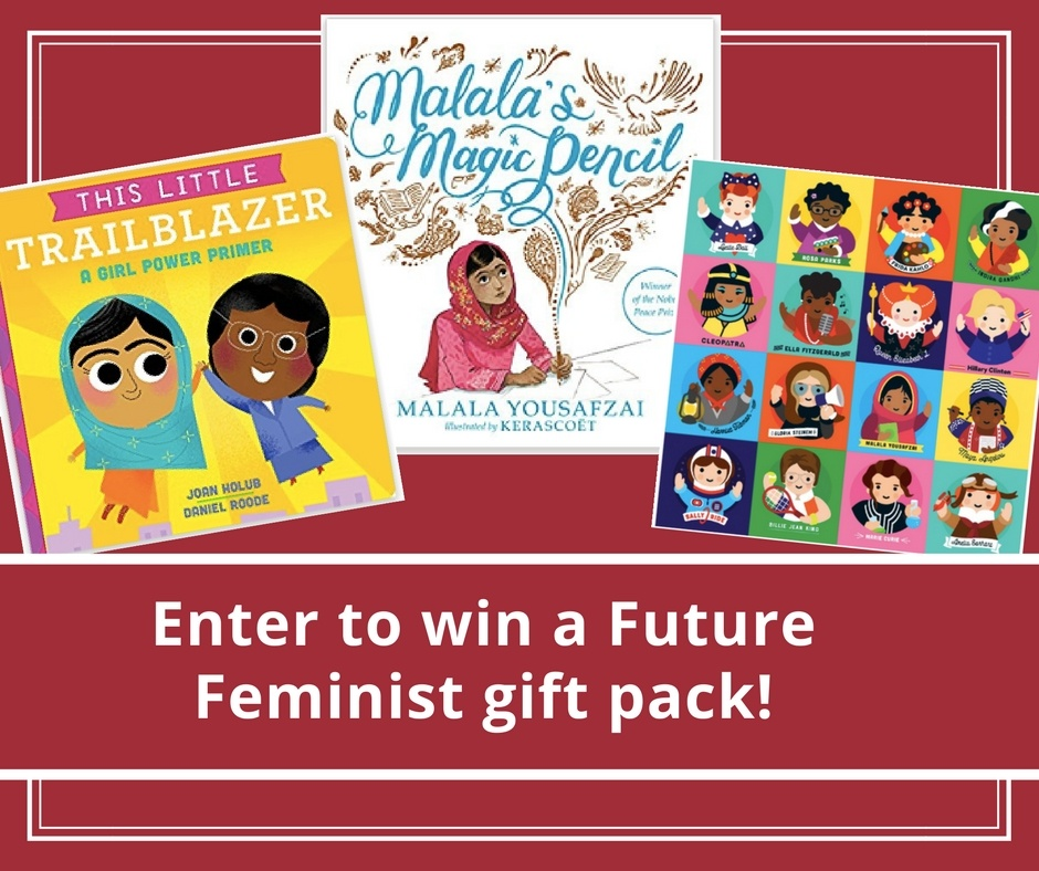 Enter to win a Future Feminist gift pack
