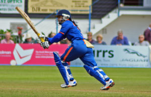 Mithali Raj Playing Cricket
