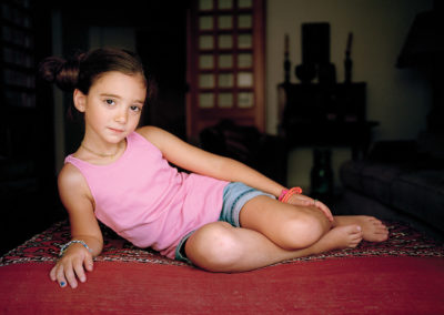 Rania Matar, Clara 8, Beirut, Lebanon, 2012, L'Enfant Femme series.