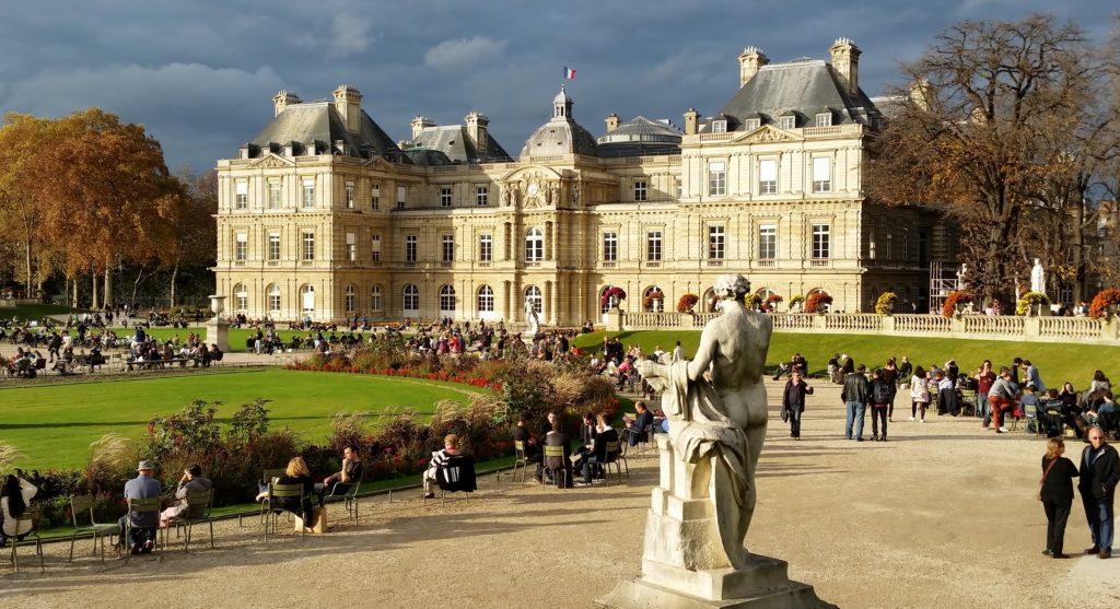 Luxembourg Gardens panoramic