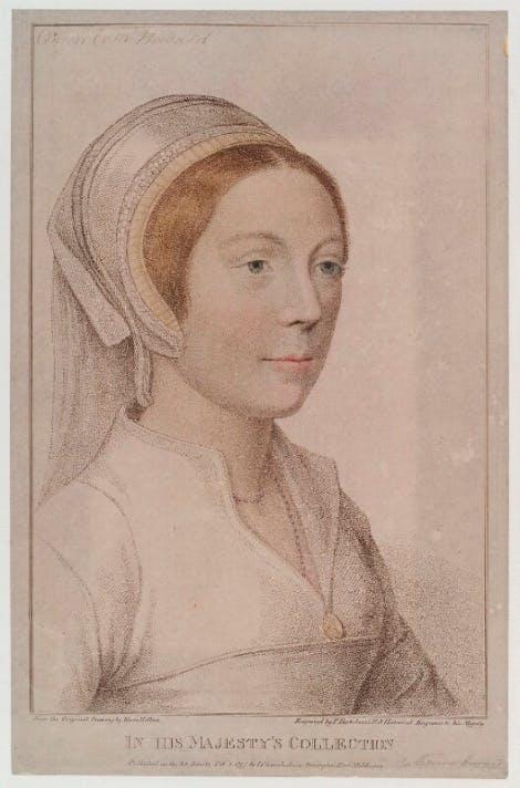 Portrait of a Tudor girl