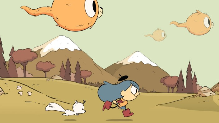 "Junior Girl Rebecca Davis reviews animated Netflix show, ""Hilda,"" featuring a brave girl protagonist and her adventures in nature."