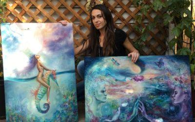 Female Painters: Erica Wexler