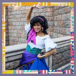 Esmeralda from The Hunchback of Notre Dame