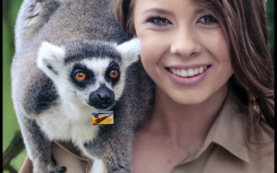 Her own person, from following in the footsteps of her father to being a force to be reckoned with: Bindi Irwin.