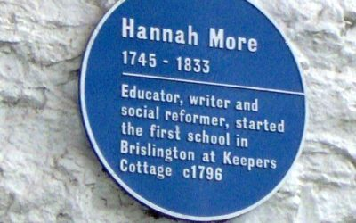 From writing plays to making change: Hannah More