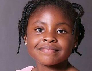 The youngest author in Africa: Michelle Nkamankeng