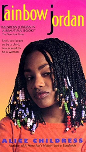cover of Rainbox Jordan, showing a black girl with beaded braids