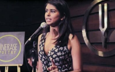 Slam Dunk! Aranya Johar's use of slam poetry