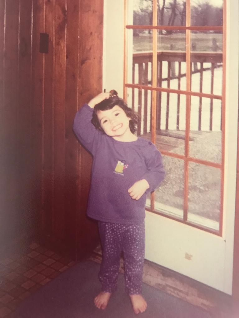 Caitlin Colapietro as a girl