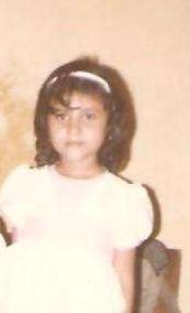 Heena as a girl