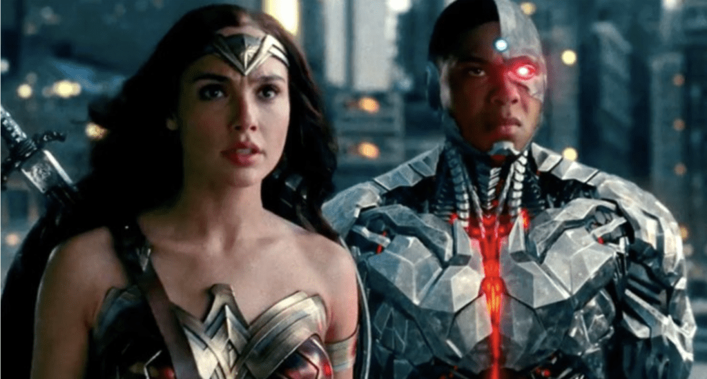 Gal Gadot Ray Fisher Justice League