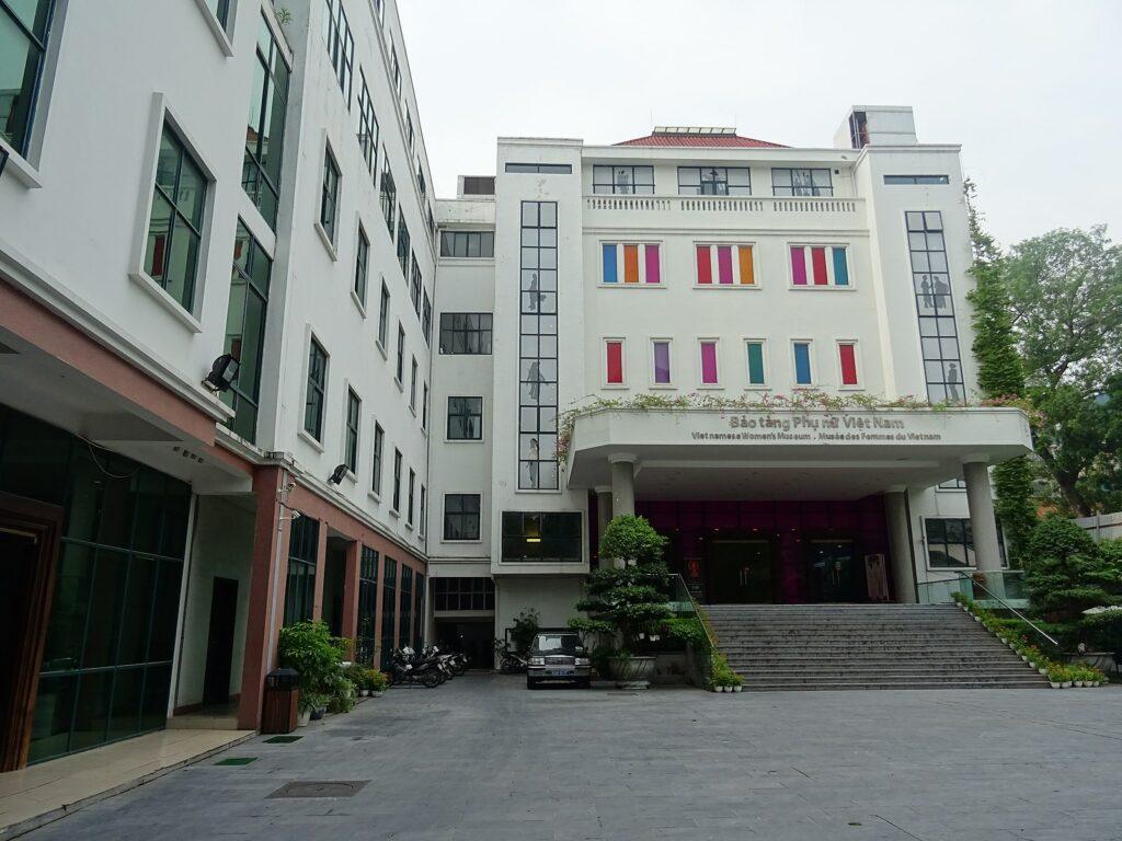 Front of the Vietnamese Women's Museum