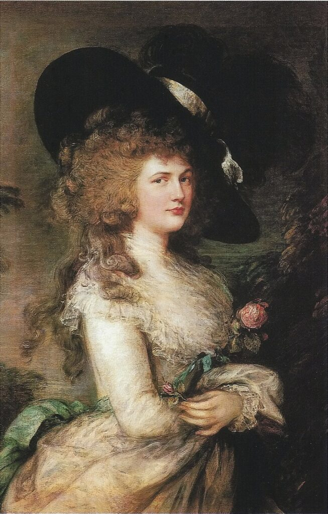 Portrait of Georgiana, Duchess of Devonshire, by Thomas Gainsborough